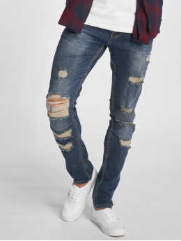 2Y Slim Fit Jeans Premium modrý