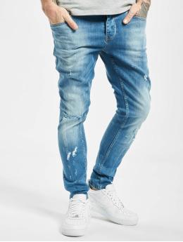 2Y Slim Fit Jeans Can modrý