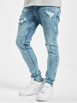 2Y Slim Fit Jeans Umay modrý