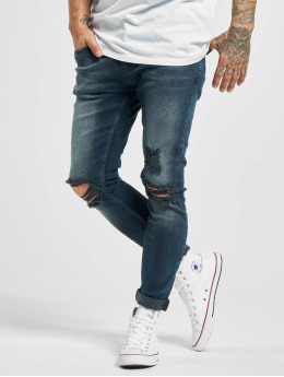 2Y Slim Fit Jeans Asil modrý