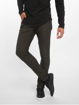 2Y Slim Fit Jeans Terry svart