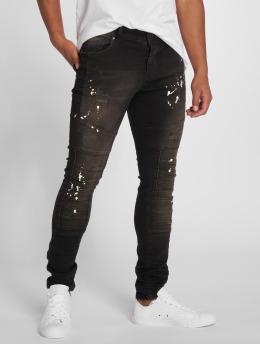 2Y Slim Fit Jeans Aleo zwart