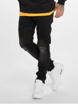 2Y Slim Fit Jeans Sidney zwart