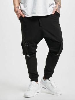 2Y Spodnie do joggingu Aytan  czarny