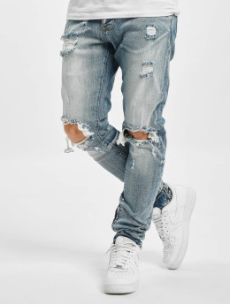 2Y Straight Fit Jeans Liam  blå