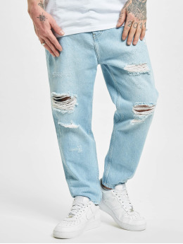 2Y Straight Fit Jeans Billings  blau