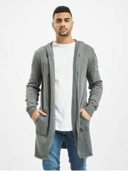 2Y Strickjacke Shrub grau