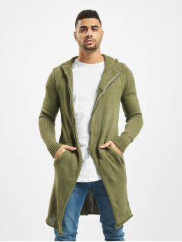 2Y Swetry rozpinane Trunk khaki