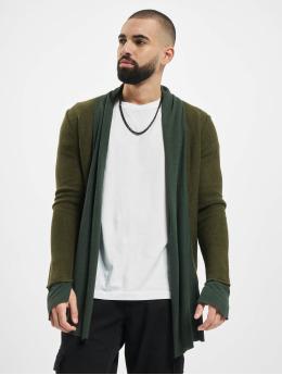 2Y vest Cardigan  khaki