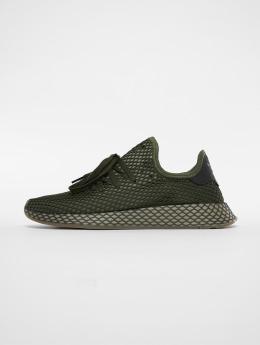 adidas originals Сникеры Deerupt Runner зеленый