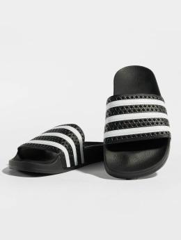 adidas originals Badesko/sandaler Adilette svart