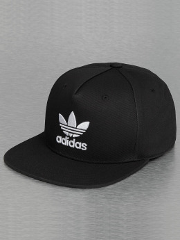 adidas originals Gorra Snapback Trefoil negro
