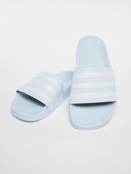 adidas originals Slipper/Sandaal Adilette blauw