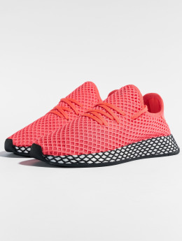 adidas originals Sneakers Deerupt Runner J czerwony
