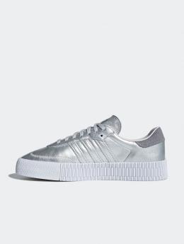 adidas originals Sneakers Sambarose W srebrny
