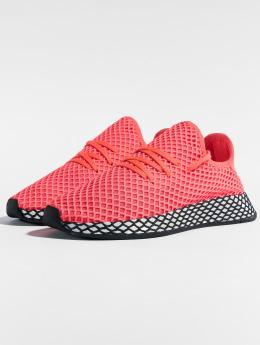 adidas originals Snejkry Deerupt Runner J červený