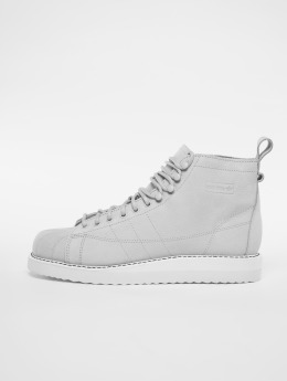 adidas originals Tennarit Superstar Boot W harmaa