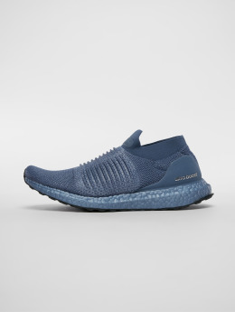 adidas Performance Laufschuhe Ultra Boost Laceless niebieski