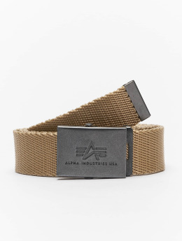 Alpha Industries Belts Heavy Duty khaki