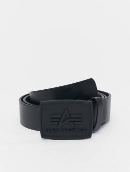 Alpha Industries Pásky All Black čern
