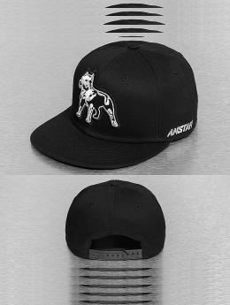 Amstaff Snapback Caps Timus czarny