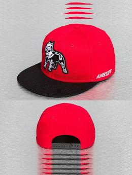 Amstaff Snapback Caps Timus czerwony