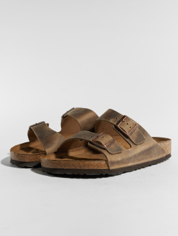 Birkenstock Sandal Arizona NU Oiled SFB brun