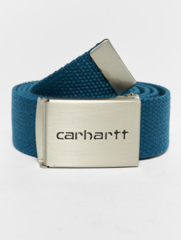 Carhartt WIP Gürtel Clip Chrome blau