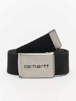 Carhartt WIP Gürtel Clip Belt schwarz