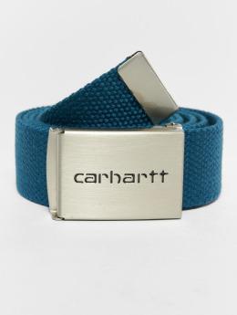 Carhartt WIP Vyöt Clip Chrome sininen