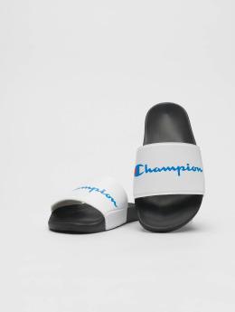 Champion Claquettes & Sandales Pool Slides blanc