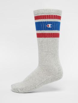 Champion Socken Logo  grau
