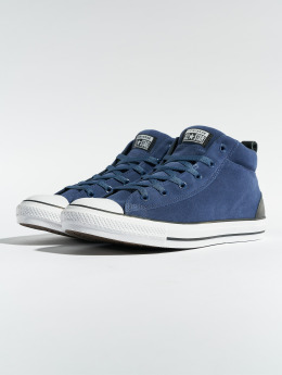 Converse Baskets Chuck Taylor All Star Street Mid bleu
