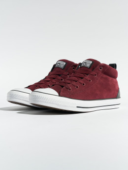 Converse Baskets Chuck Taylor All Star Street Mid rouge