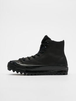 Converse sneaker ChuckTaylor All Star Lift Ripple zwart