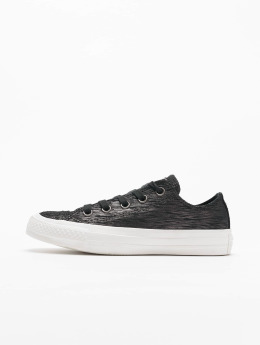 Converse Chuck Taylor All Star Ox Sneakers Black/Metallic Black/Egret