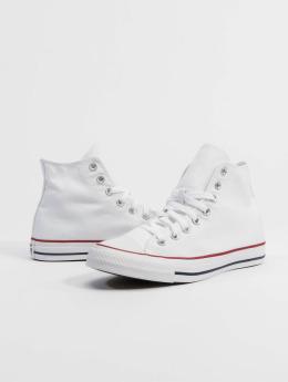 Valkoiset pitkävartiset Converse tennarit 37,