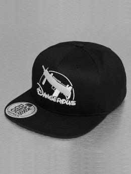 Dangerous DNGRS snapback cap Uzi zwart