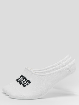 DC Chaussettes 3-Pack Spp Liner blanc
