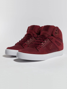 DC Sneakers Pure High-Top WC èervená