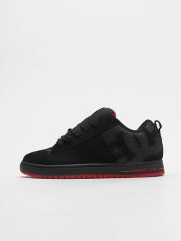 DC Sneakers Court Graffik Se èierna