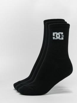 DC Socken 3-Pack Spp Crew schwarz