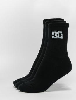 DC Socks 3-Pack Spp Crew black