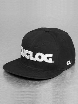 Decky USA Snapback Cap Cuglog schwarz