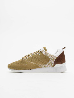 Djinns Sneaker Easy Run Gator Knit beige