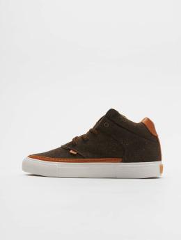 Djinns Sneaker Chunk Spotted Edge braun