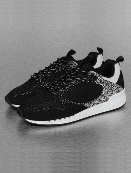 Djinns Sneaker Easy Run Gator Knit schwarz