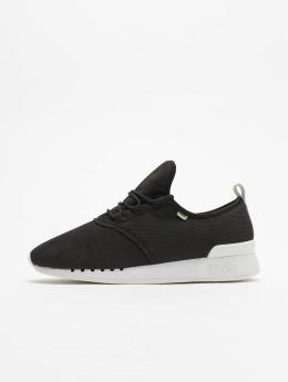 Djinns Sneaker Moc Lau Perfo schwarz