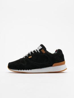 Djinns Sneaker Easy Run Indian Feel schwarz