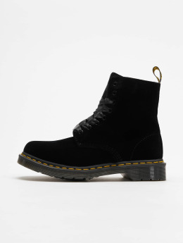 Dr. Martens Boots Pascal Velvet 8-Eye nero
